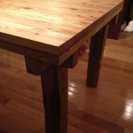 Table Catherine extention fermer